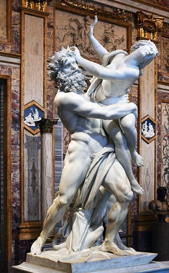 The Rape of Proserpina プロセルピナの略奪 ベルニーニ ボルゲーゼ美術館 イタリア ローマ