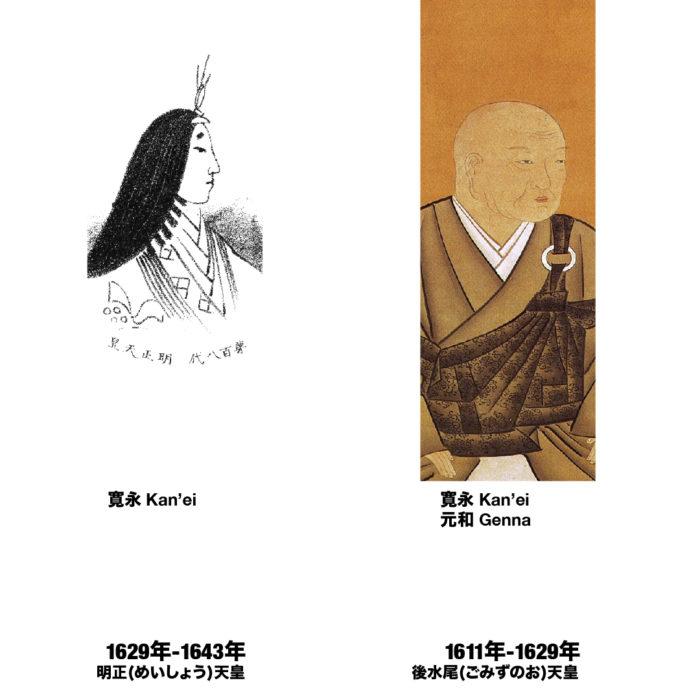 江戸時代の元号・年号と天皇