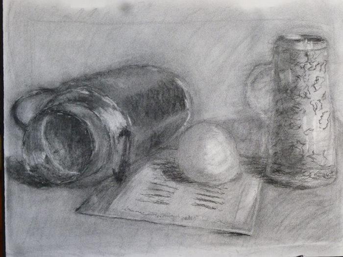 私の描いた最初期のデッサン