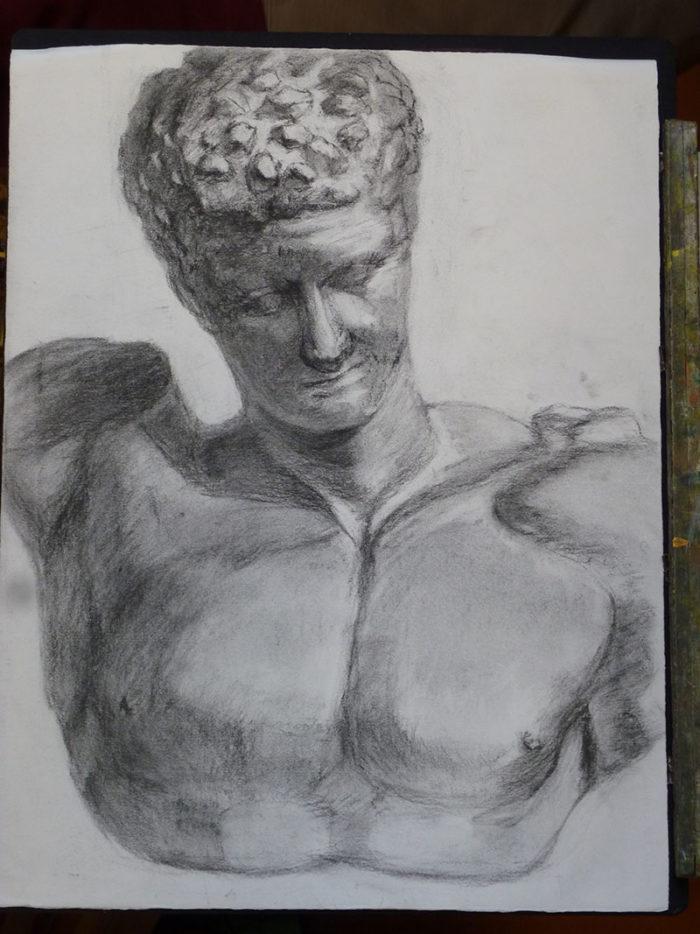 私の描いた最初期のデッサン2