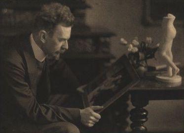 「美術史の基礎概念」(Kunstgeschichtliche Grundbegriffe, 1915年)を書いた美術史家ハインリヒ・ヴェルフリン