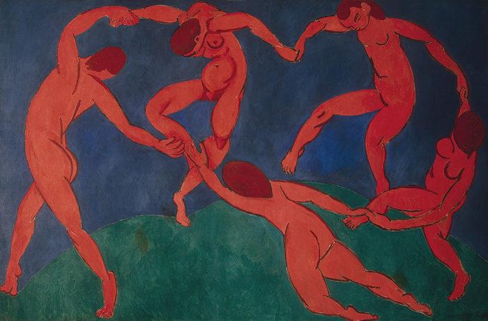 Henri Matisse The Dance, 1910, Hermitage Museum, St. Petersburg, Russia