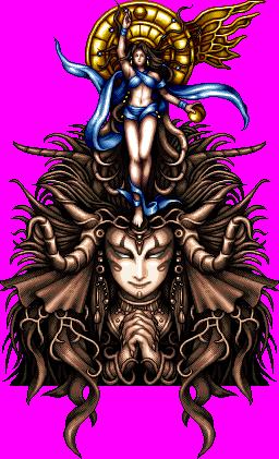 FF6, ファイナルファンタジー6に登場する「女神」 ©SQUARE ENIX