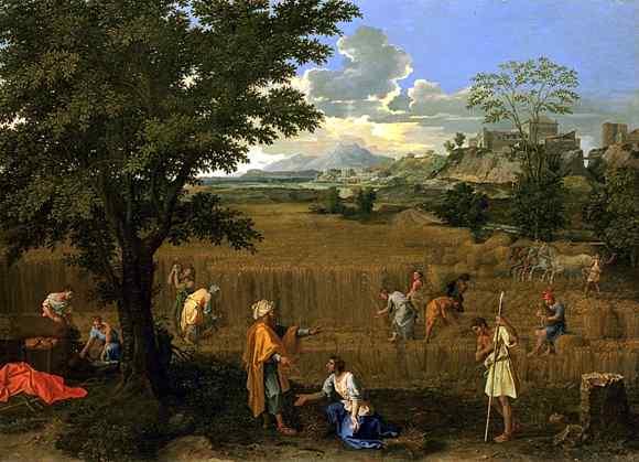 ニコラ・プッサン「The Four Seasons (Summer)」, 1660–1664, Louvre