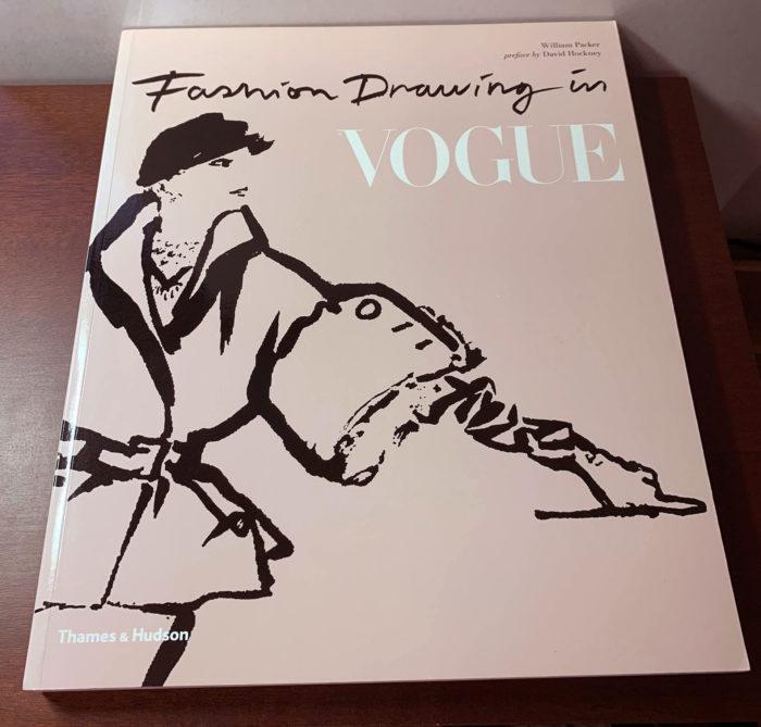 【アートブックレビュー】「Fashion Drawing in Vogue」William Packer (著) 雑誌Vogueの古典的なファッションイラストレーションの歴史をまとめた一冊