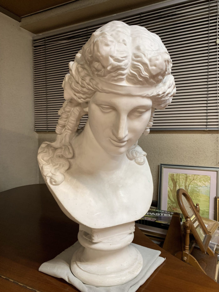 【石膏物語】アリアス胸像 その正体は陶酔と芸術の神バッカス(デュオニソス)像