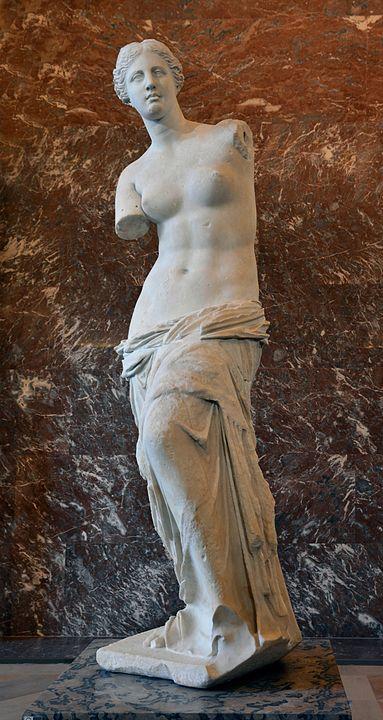 ルーブル美術館のミロのヴィーナス Livioandronico2013 CC 表示継承4.0