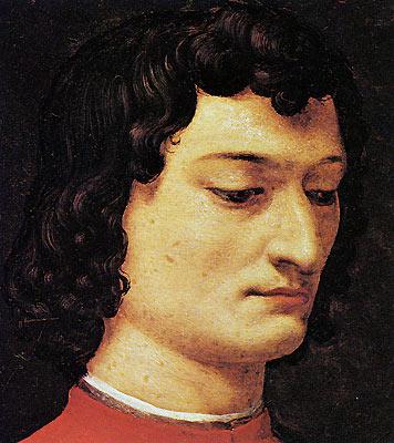 メディチの肖像画1  Agnolo di Cosimo (or Agnolo Bronzino)