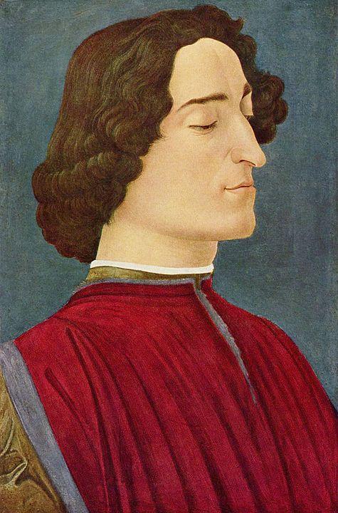 ジュリアーノ・デ・メディチの肖像(ボッティチェッリ)