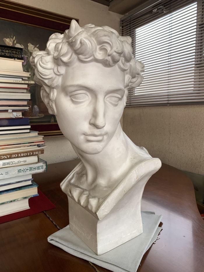 【石膏物語】ジュリアーノ・デ・メディチ胸像 ミケランジェロ作 本人とは似ていない超絶美化された像。