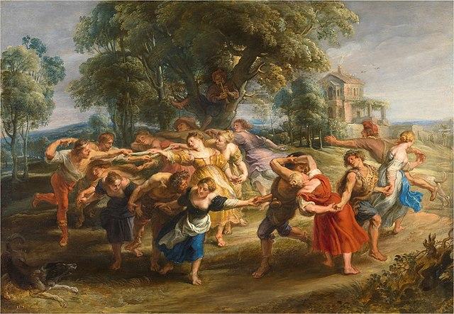 ルーベンス 村人の踊り