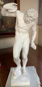 【石膏物語】サテュロス(サタイア)全身像 半身獣の自然の精霊として