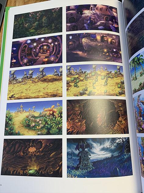 【アートブックレビュー】聖剣伝説Legend of Mana Art of MANA